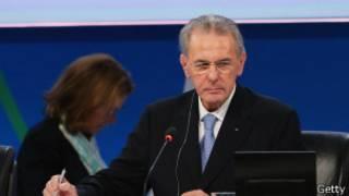 Президент Международного Олимпийского комитета  Жак Рогге