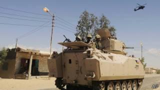 Египетский военный патруль