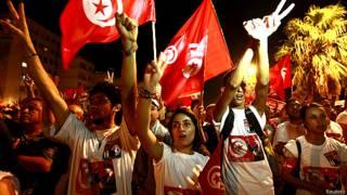 ट्यूनीशिया, प्रदर्शन