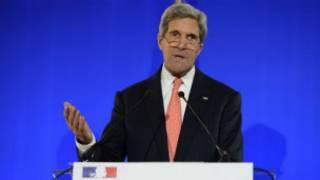John Kerry i Paris