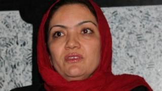 अफ़गान महिला सांसद