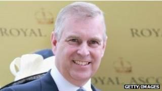 Hoàng tử Andrew, Công tước xứ York