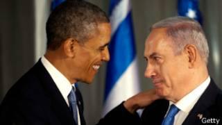 Barack Obama e Binyamin Netanyahu   Photo: Getty