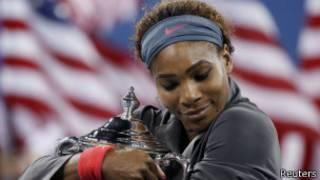 Серена Уильямс побеждает в 17 раз на турнирах Большого шлема
