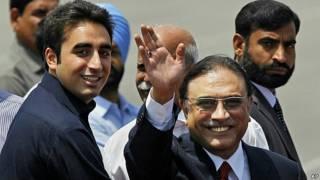 आसिफ़ अली ज़रदारी, पाकिस्तान