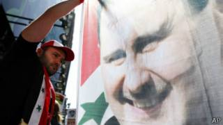 Ato pró-Assad em NY