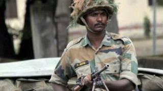 Soldado del ejército indio
