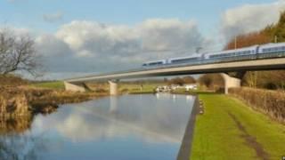HS2高速列車網項目能夠使英國經濟每年增加150億英鎊