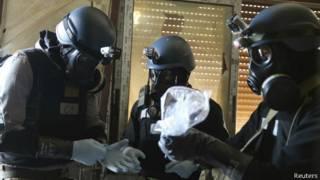 Đội kiểm tra vũ khí hóa học của UN