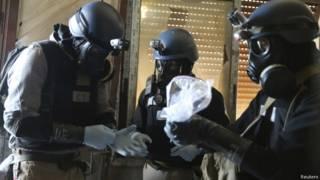 Эксперты ООН по химическому оружию