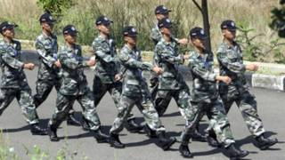Lính đặc nhiệm của Trung Quốc tham gia diễn tập