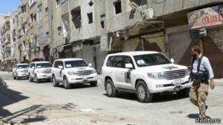 بازرسان سازمان ملل در سوریه