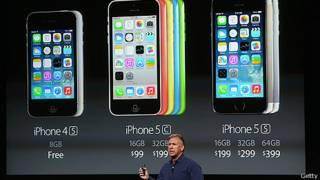 Phil Schiller apresenta os iPhones 5S e 5C | Foto: Getty