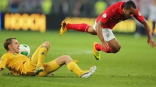 英格兰客场0-0闷平乌克兰