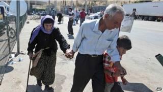 Refugiados sírios (AP)