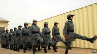 Mulheres policiais no Afeganistão | Foto: AFP