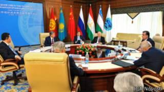 Саммит ШОС в Бишкеке 13 сентября 2013 года