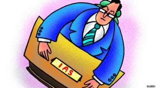 भ्रष्टाचार, आईएएस, नौकरशाह