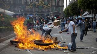 اعتراضات در مکزیکو سیتی