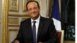 फ्रान्सका राष्ट्रपति फ्राँस्वाँ ओलाँद