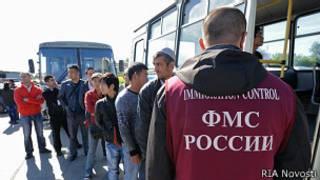 Рейд ФМС против нелегальных мигрантов