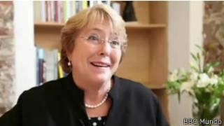 Michele Bachelet   Crédito: BBC Mundo