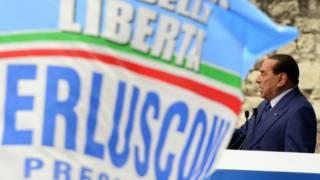 رئيس الوزراء الإيطالي السابق سيليفيو برلسكوني