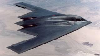 Máy bay thả bom tàng hình B2 của Mỹ