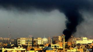 Centro de Bagdad en 2007