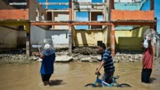 Enchente no México
