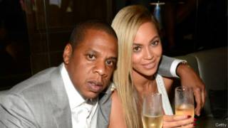 碧昂丝和夫君Jay Z