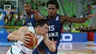 مواجهة فرنسية ليتوانية في نهائي بطولة أوروبا لكرة السلة