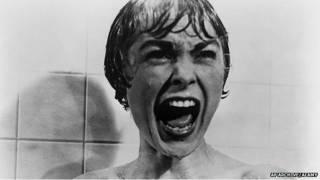 "Janet Leigh en ""Psicosis"""