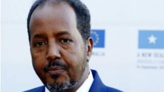 Le président somalien Hassan Sheikh Mohamud