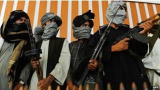 Mayakan Taliban na Afghanistan