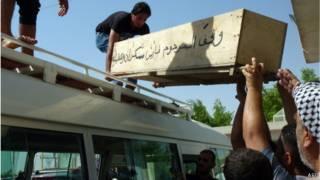 تشييع قتلى انفجار مدينة الصدر