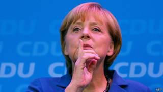 Canciller de Alemania, Angela Merkel