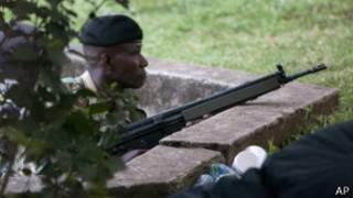 肯尼亞保安部隊成員