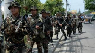 Rebel groups in Philippines
