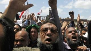 Seguidores de la Hermandad Musulmana