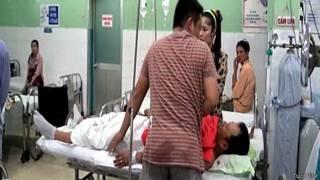 Hai nạn nhân hiện đang trong tình trạng nguy kịch