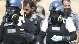 Инспекторы по химоружию, Сирия