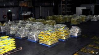 Эфедрин был спрятан в упаковках  риса