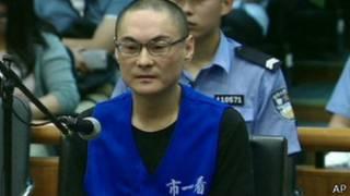 Han Lei, condenado à morte. Foto: AP