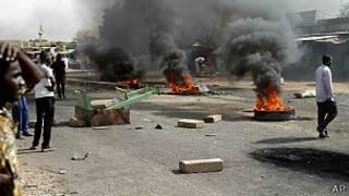 सुडानमा विरोध प्रदर्शन