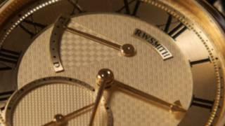हाथ से बनी रॉजर डब्ल्यू स्मिथ की घड़ी