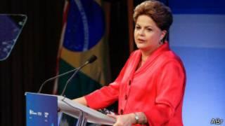 Dilma Rousseff em Nova York