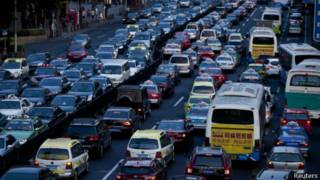 上海交通擁堵