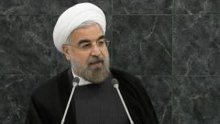 Shugaba Hassan Rouhani na Iran