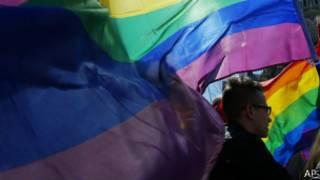 демонстрация ЛГБТ